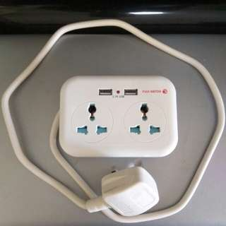 Brand New Universal Travel extension plug