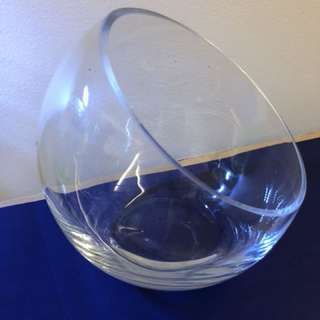 Glass Bowl for terrarium or fishes