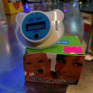 Baby Pacifier athermometer