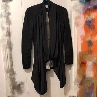 Initial Fashion jacket coat 絨褸