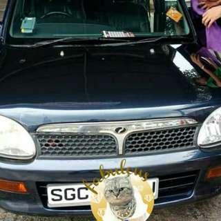 Perodua Kelisa 1.0A SG Scrap