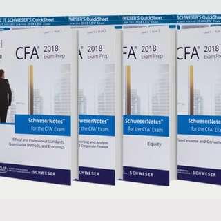 CFA level 2 Notes 2018全新