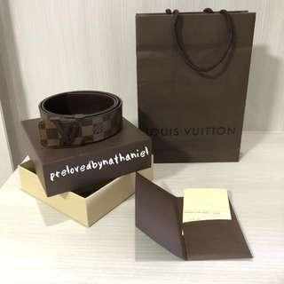 Louis Vuitton Initiales 40mm Belt 90cm Authentic