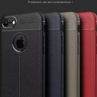iPhone 7 / 8 Plus 專用高級真皮套  *全包邊覆蓋*