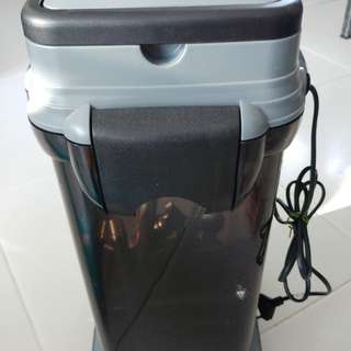 Canister filtee