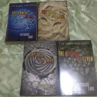 I am Number Four Series (books 2-4)