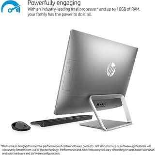 HP Pavilion 24FHD觸控、AMD A9、4G繪圖卡、12G、500G SSD、視訊、藍牙、無線鍵鼠、D燒