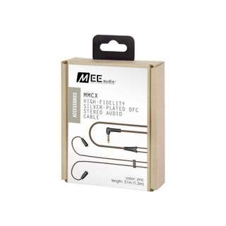 Mee audio MMCX HIGH-FIDELITY SILVER-PLATED OFC REPLACEMENT STEREO AUDIO CABLE FOR PINNACLE P1 IN-EAR HEADPHONES