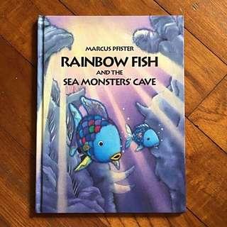 Rainbow Fish and the Sea Monsters' Cave Large Hardback