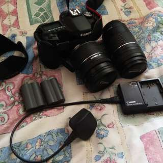 Canon 50D with 2 Lens (Negotiable)