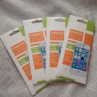 iPhone 4/4s matte screen protector