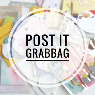 post it grabbag for bujo