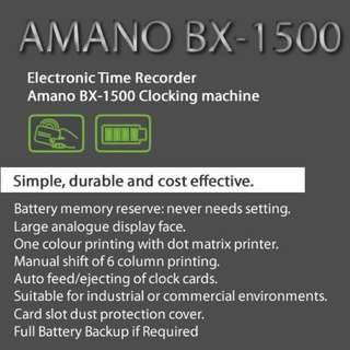 BX 1500 By AMANO