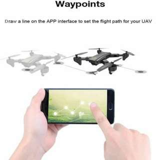 DM95 Visitor Foldable Wifi FPV RC Drone 2MP Camer