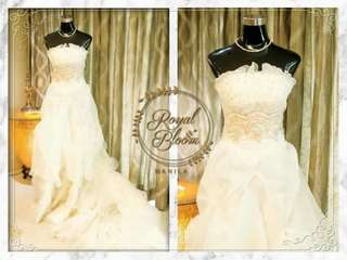 Affordable Wedding Gown #1