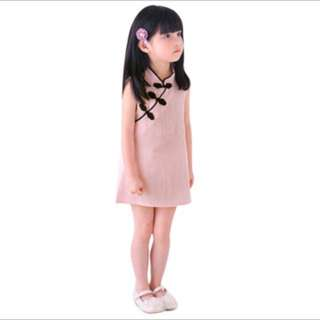 Brand New CNY Cheongsam dress in pink for Baby Girl/ Toddler