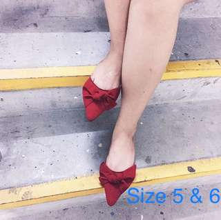 Red mules