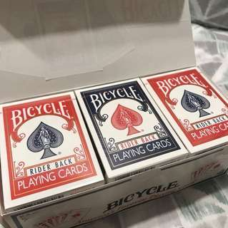 Bicycle Playing Cards (Blue/Red)