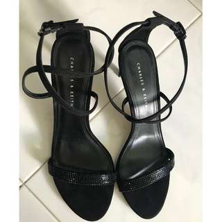 Charles & Keith Strappy Low Heels