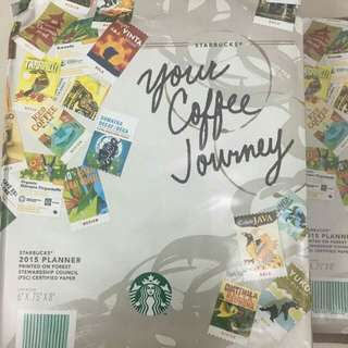 Starbucks Collection Planner 2015