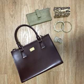 Korean Bag + Fino Wallet and keychain + FREE accessories BUNDLE