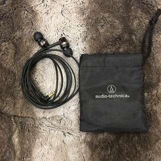 鐵三角AUDIO TECHNICA ATH-CKR30耳塞式耳機