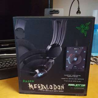 Razer Gaming Headset (Megaladon 7.1 Surround Sound)