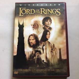 Lord of the rings 2 dvd region 1