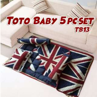 Toto Baby Quilt 5 pc set