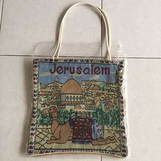 Cotton Bag Jerusalem