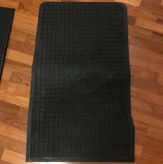 Mercedes Car Mat - last piece/ for non fussy buyer