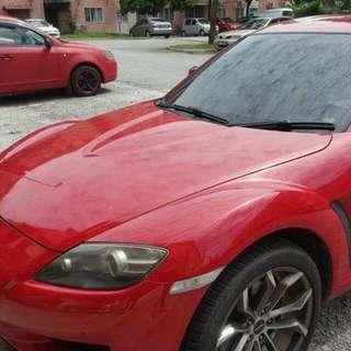 Mazda RX8 1.3auto    (-SG-) Year 2008