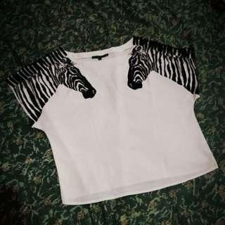 Blouse zebra import