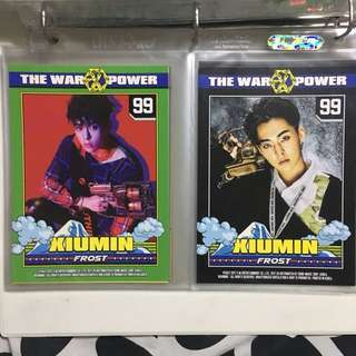 EXO Power Character Cards