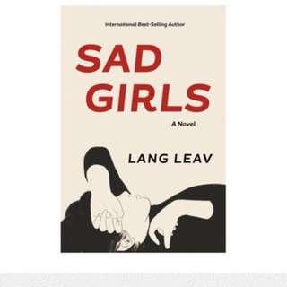 Sad girls lang leav novel poem