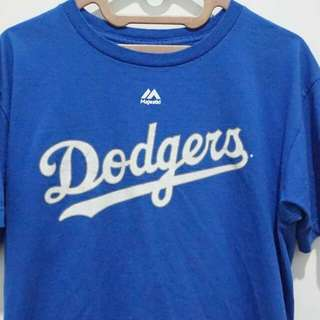 Majestic Clayton Kershaw Royal Los Angeles Dodgers T-shirt