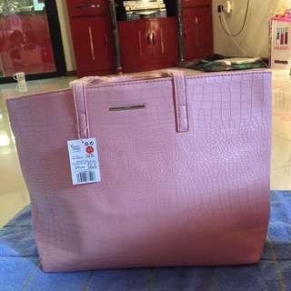 Mango (MNG) Tote Bag Pink