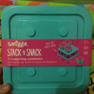 Stank N Snack 7pcs Smiggle Lunch Pack