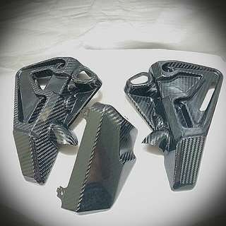 Yamaha Mt-10 / Mt10 Carbon Fibre Coolant Covers