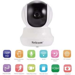 Mini CCTV Wireless IP Camera - Night Vision, Motion Detection, 2 Way Audio