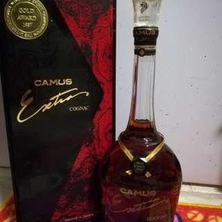 陳年金花camus extra 70cl老酒