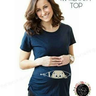 FG MATERNITY TOP NAVY