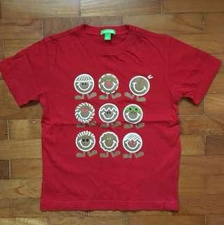 Bossini Cookies Red T Shirt