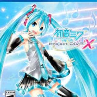Project Diva X Jap Vers.
