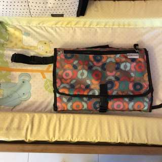 Baby Changing mat with storage