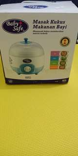 Baby food steam cooker