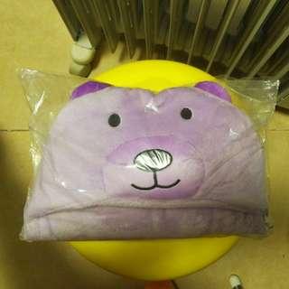 99%新紫色熊仔包被