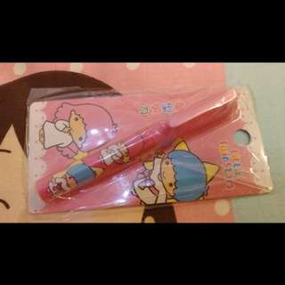 Little Twin Stars Kiki Lala 全新正版 sanrio 筆型剪刀 scissor