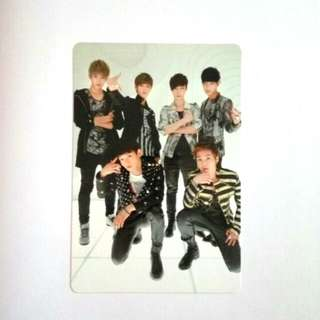 OFFICIAL EXO-M MAMA GROUP PHOTOCARD