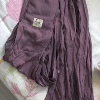 Babysafe sling carrier in purple 9/10 condition